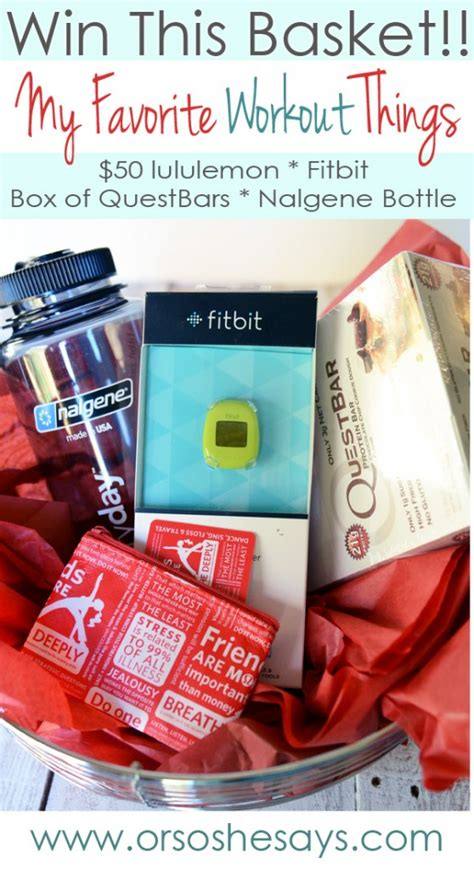Lululemon Gift Card Balance - my favorite things giveaway fitbit