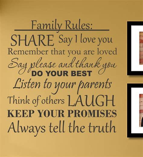 house rules word art custom designs wall art designs family rules wall art home decorate wall