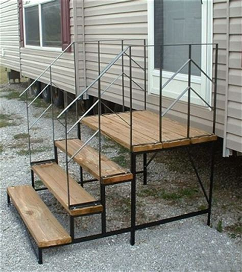 30in and 40in platforms with 2 std handrails mobile