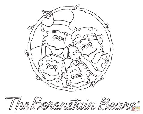 berenstain bear coloring pages berenstain bears coloring page free printable coloring pages