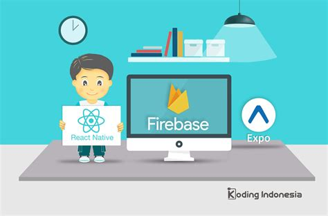 react native firebase tutorial sign up dan login user authentication menggunakan firebase