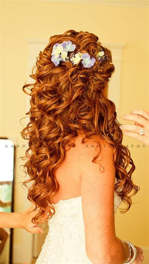 Wedding Hairstyles For Really Curly Hair by 211 Best Images About Matrimonio On