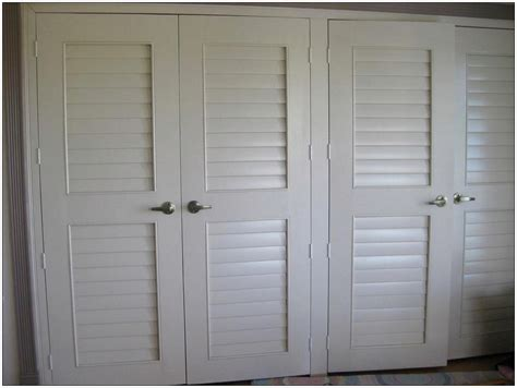 How To Hang Closet Doors How To Hang Louvered Closet Doors Interior Exterior Homie