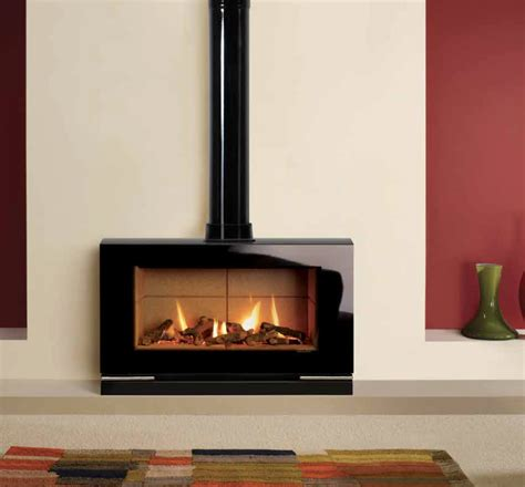 Free Standing Gas Log Fireplace by Riva Vision Large Fireplace By Design