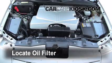 Cadillac Cts Change by Filter Change Cadillac Srx 2004 2009 2006