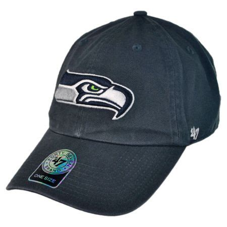 Seattle Seahawks Cap by 47 Brand Seattle Seahawks Nfl Clean Up Strapback Baseball
