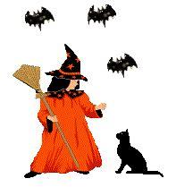 imagenes gif animados con movimiento im 225 genes animadas de brujas gifs de terror gt brujas