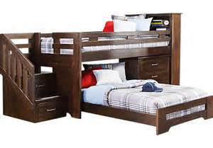 Rooms To Go Bunk Bed S Collection Lost Creek Espresso Jr Step Bunk Bunk Beds