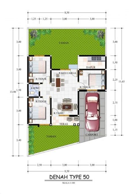 desain rumah minimalis type 45 modern plus gambar dan foto desain interior rumah minimalis type