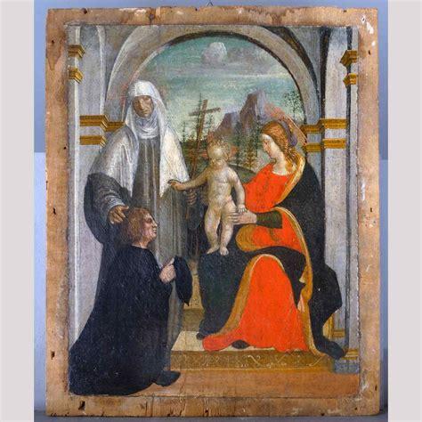 dipinto su tavola dipinto lombardo su tavola 500 ambito bernardo zenale