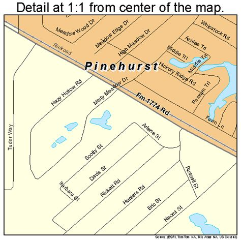 pinehurst texas map pinehurst texas map 4857596