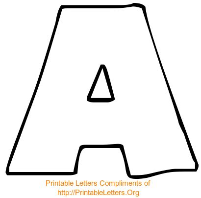 giant printable alphabet letters big alphabet letters to print out traditional free