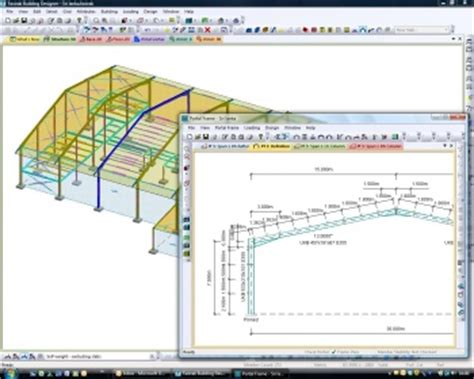 portal frame design to bs 5950 portal frames steelconstruction info