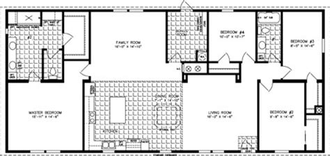 cp homes floor plans pointe 2085 sq ft manufactured home