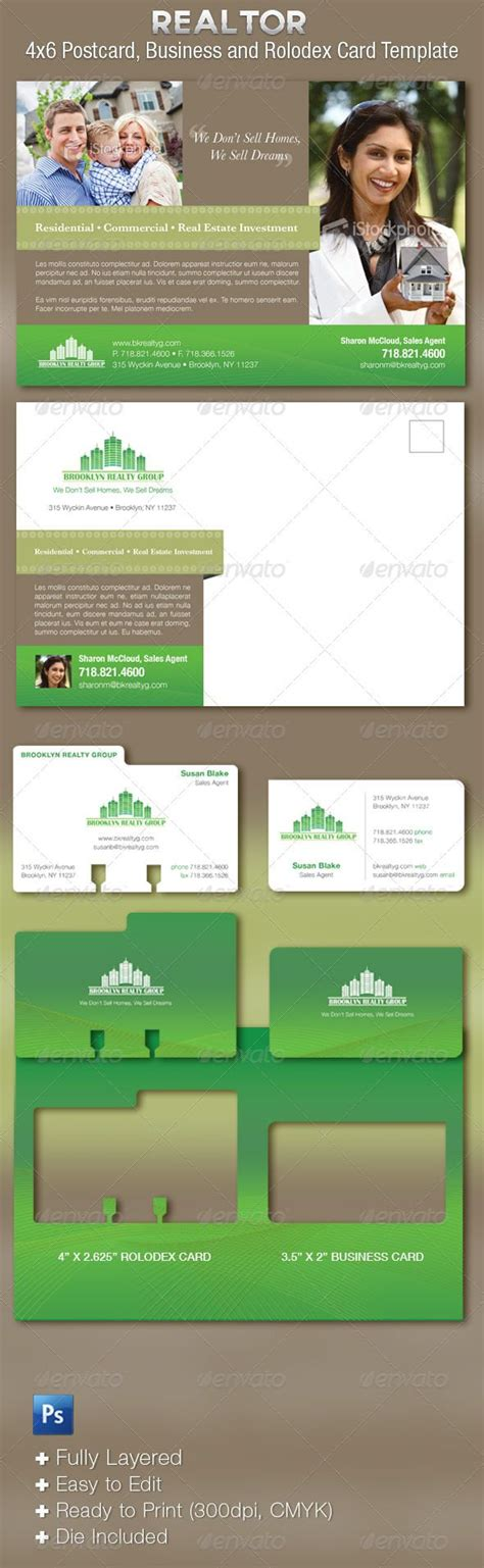 rolodex card template illustrator real estate flyer plus business cards template fonts