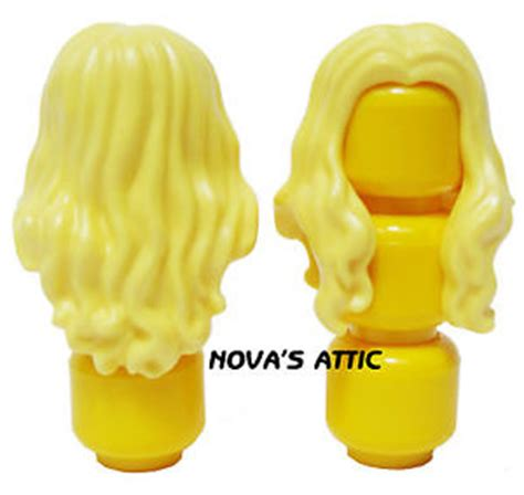 Lego Yellow Hair lego shoulder yellow minifigure hair new ebay