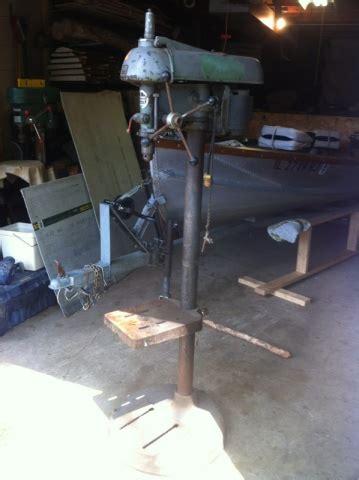 walker turner drill press woodworking talk woodworkers forum