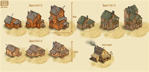 Concept Art 1 ? Houses   somasim games