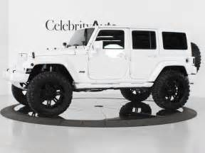 white 4 door jeep wrangler greg