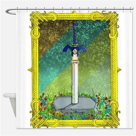 zelda shower curtain zelda shower curtains zelda fabric shower curtain liner