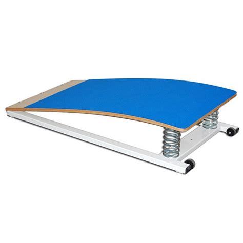 pedana ginnastica artistica pedana elastica per ginnastica con telaio e molle in