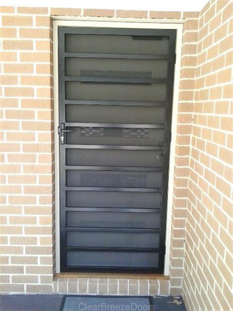 Screen Gate Door by Aluminium Steel Security Screen Doors Melbourne Lock