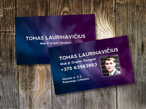 how to make a business card in photoshop 100 free psd business card templates
