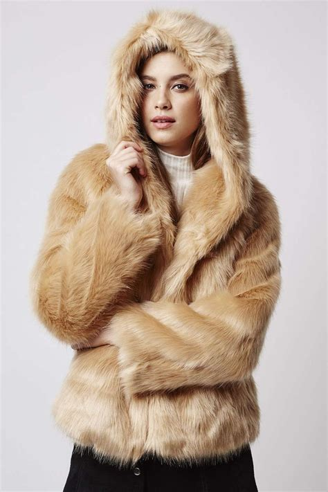 Faux Fur Hooded Coat 17 best ideas about faux fur hooded coat on