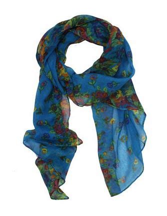 Bloomy Scarf floral print scarf for 1 99 shipped bargains to bounty