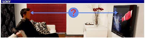 distanza tv led divano distanza ottimale di visione tv lcd