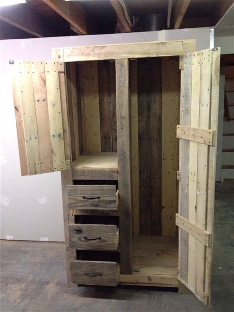 Kitchen Design Basics by Diy Pallet Cabinet For Storage 101 Pallets