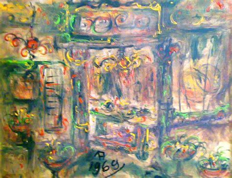 Lukisan Kota Abstrak galery lukisan lukisan abstrak rumah