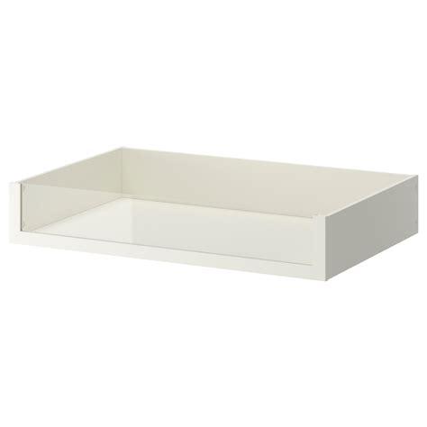 komplement tiroir avec en verre blanc 100 x 58 cm ikea