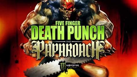 five finger death punch ashes five finger death punch papa roach join forces for fall