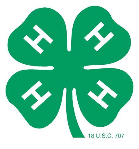 4 H Emblems 4 H Clipart