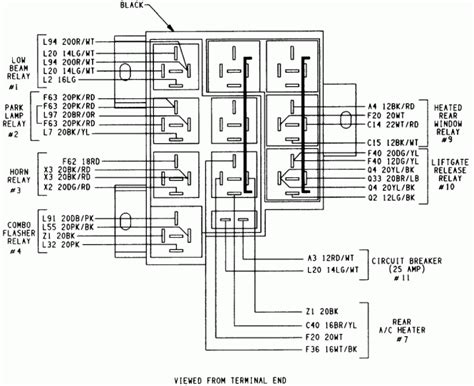 wiring diagram for 2003 dodge ram 1500
