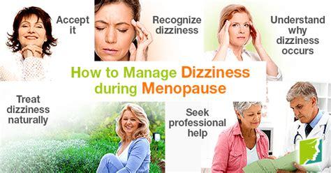 perimenopause symptoms dizziness and vertigo how to manage dizziness during menopause