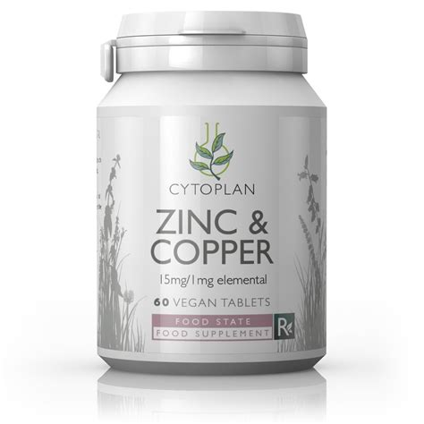supplement zinc and copper zinc and copper supplement probiotic food state cytoplan
