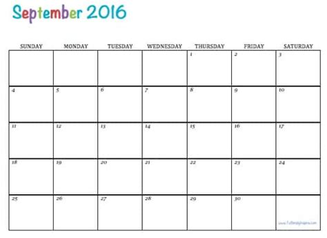 printable lesson plan calendar 2016 free printable 2016 calendars