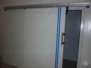 porte de chambre froide avec le rail porteur occasion