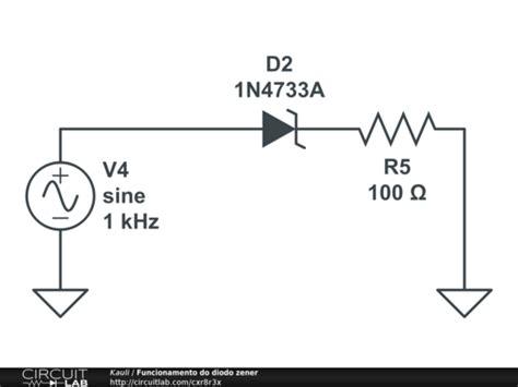 zener diode principle zener diode principle circuitlab