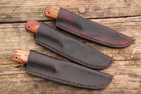 Handmade Knife Sheaths - nessmuks in sheaths lucas forge