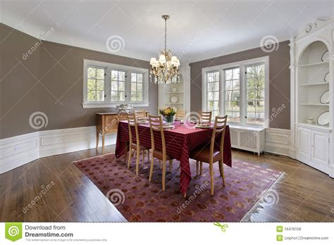 built in china dining room dining room with built in cabinets stock photo image of