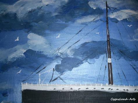 dessin bateau titanic dessin du bateau le titanic art peintures par cygnelandarts