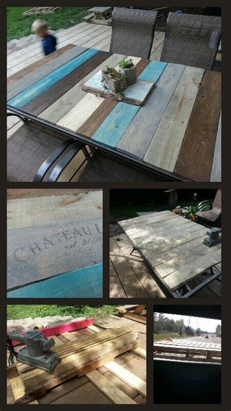 Diy Patio Table Top Ideas Woodworking Projects Plans Diy Patio Table Top
