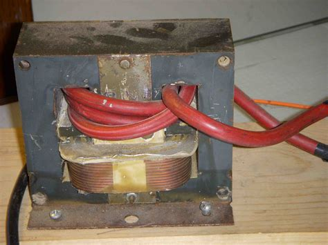 Microwave Low Voltage transformer thermal knife power supply part 2
