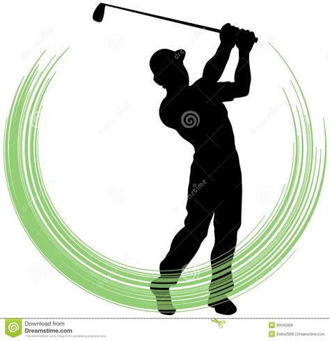 golf swing clip art golf swing stock vector image of illustrator drawing