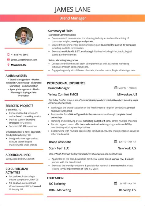 Professional Resume Layout by Best Resume Layout 2018 Guide With 50 Exles And Sles