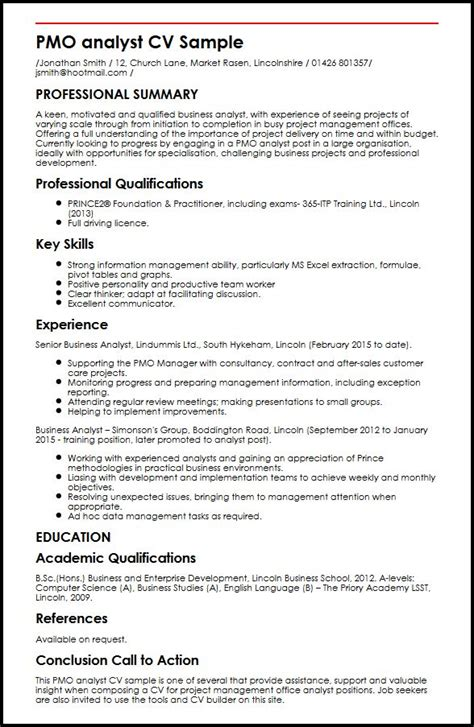 Cv Example. Project Manager Cv Example 7 Project Manager