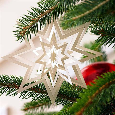 Paper Craft Ornaments - paper crafts ideas make your own colorful tree